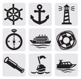 Nautical set Royalty Free Stock Photography
