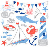 Nautical Set Stock Image