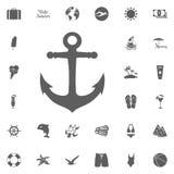 Nautical set royalty free illustration