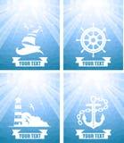 Nautical set Stock Photography