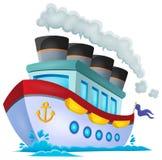 Nautical ship theme image 1 Stock Photos