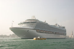Nautical ship in Venice. (Venezia), Italy Stock Images