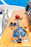 Nautical ships control panel Stock Photography
