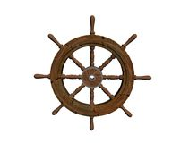 Nautical steering Stock Photography