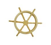 Nautical Steering Wheel Royalty Free Stock Images