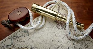 Nautical still life Stock Images