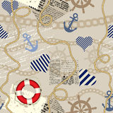 Nautical style Royalty Free Stock Photos