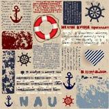 Nautical style Stock Photography