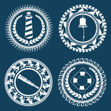 Nautical Symbols 2 Royalty Free Stock Photos