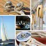 Nautical theme royalty free stock photo
