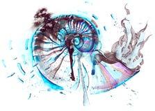 Nautilos Ilustracja Wektor