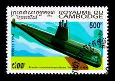 Nautilus à propulsion nucléaire, serie de sous-marins, vers 1994 Photo stock