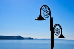 Nautilus Lamps Against The Jurassic Coastline