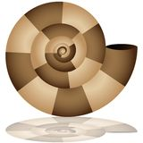 Nautilus Shell Icon Stock Photo