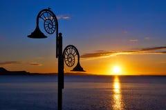 Free Nautilus Sunrise At Lyme Regis Stock Photo - 130213960