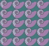 Nautilusbehang Stock Fotografie