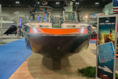 Nautique boat on display Royalty Free Stock Image