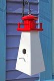 nautisk birdhouse arkivfoto