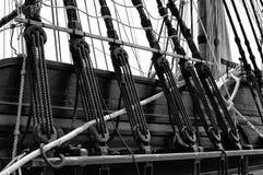 Nautisk skeppriggning Royaltyfri Fotografi
