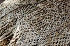 Nautiska rep som bakgrundsbild Royaltyfri Bild