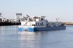 Nautiskt anvisningsfartyg Arkivbild