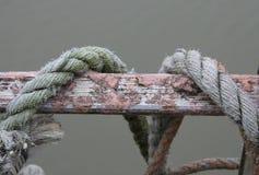 Nautiskt eller marin- rep fotografering för bildbyråer