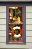 nautiskt fönster royaltyfria bilder