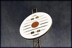 Nautiskt navigeringtecken för tappning Arkivbilder