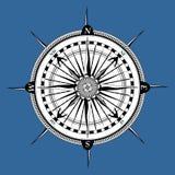 nautiskt retro för kompass Royaltyfria Bilder