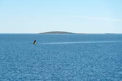 Nautiskt underteckna in det vita havet royaltyfria foton