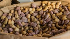 Nauts и высушенные плоды как концепция здоровой еды r стоковое фото