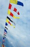 Nautyczne flaga Obraz Royalty Free