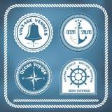 Nautyczni symbole Obraz Royalty Free