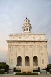 Nauvoo, de Tempel van Illinois LDS Stock Foto