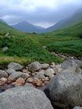 Nauwe vallei Rosa, Eiland van Arran, Schotland royalty-vrije stock foto's