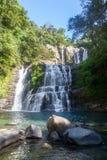 Nauyaca nedgångar, Costa Rica Fotografering för Bildbyråer