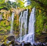 Nauyaca vattenfall Royaltyfri Foto