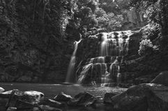 Nauyaca Waterfalls. Bottom tier of Nauyaca waterfalls Stock Image