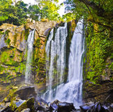 Nauyaca Waterfalls. Top tier of Nauyaca waterfalls Royalty Free Stock Photo