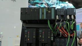 Nav för nätverk för maktsystemkommunikation lager videofilmer