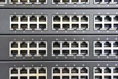 Nav för nätverksströmbrytare för mycket varm arbetsuppgift arkivfoton