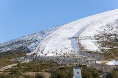 Navacerrada ośrodek narciarski Obraz Stock