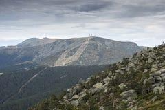Navacerrada Ski Resort stock afbeelding