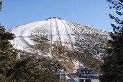 Navacerrada Ski Resort Royalty Free Stock Photos