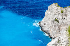 Navagio Bay at Zakynthos, Greece Royalty Free Stock Image