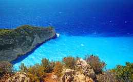 Navagio beach ( Shipwreck ) on Zakynthos island Royalty Free Stock Photo