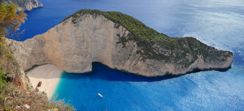 Navagio beach  Stock Photography