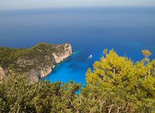 Navagio beach Royalty Free Stock Photos