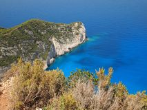 Navagio beach Stock Images