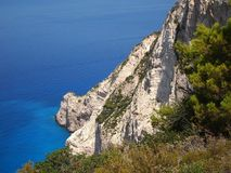 Navagio beach Stock Photos